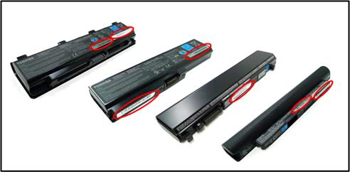 Toshiba batteries dangereuses