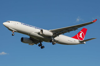 Turkish Cargo during flight tests (next reg. TC-JOV) @ Toulouse
