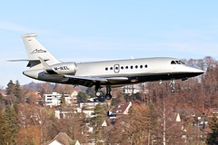 M-IKEL Private Dassault Falcon 2000EX @ LSZB back in 2013