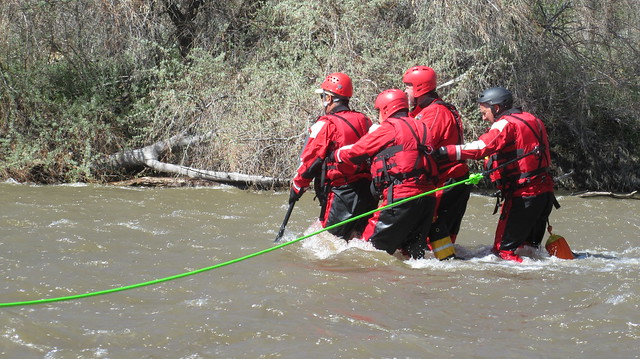 SWRT Training on the Carson River