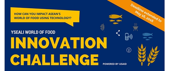 Call for Submission: YSEALI World of Food Innovation Challenge 2016