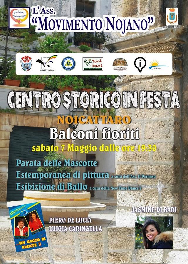 Noicattaro. Centro storico in Festa 2016 intero