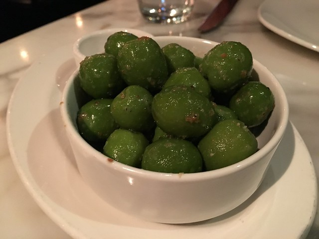 Warm castelvetrano olives - Piatti