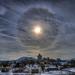 Sun Halo Snowy Roanoke by Terry Aldhizer