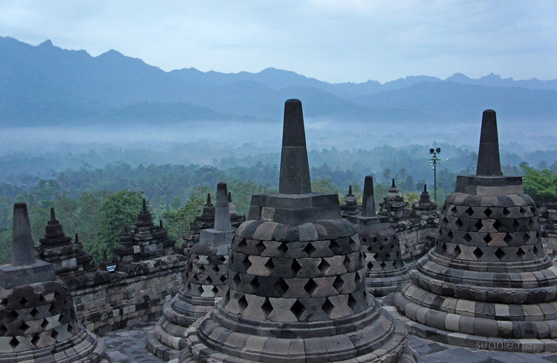 Borobudur, Yogyakarta - 0545 before sunrise