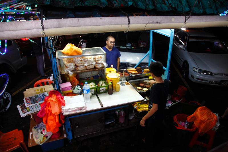 Om Burger Stall Ampang