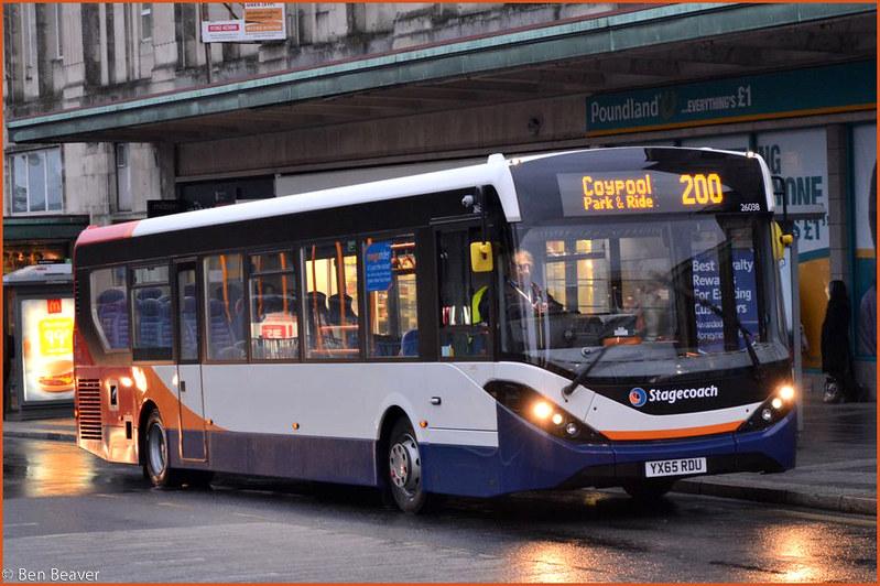 Stagecoach 26038 YX65RDU