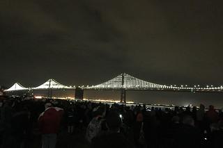 Super Bowl City - Bay Lights
