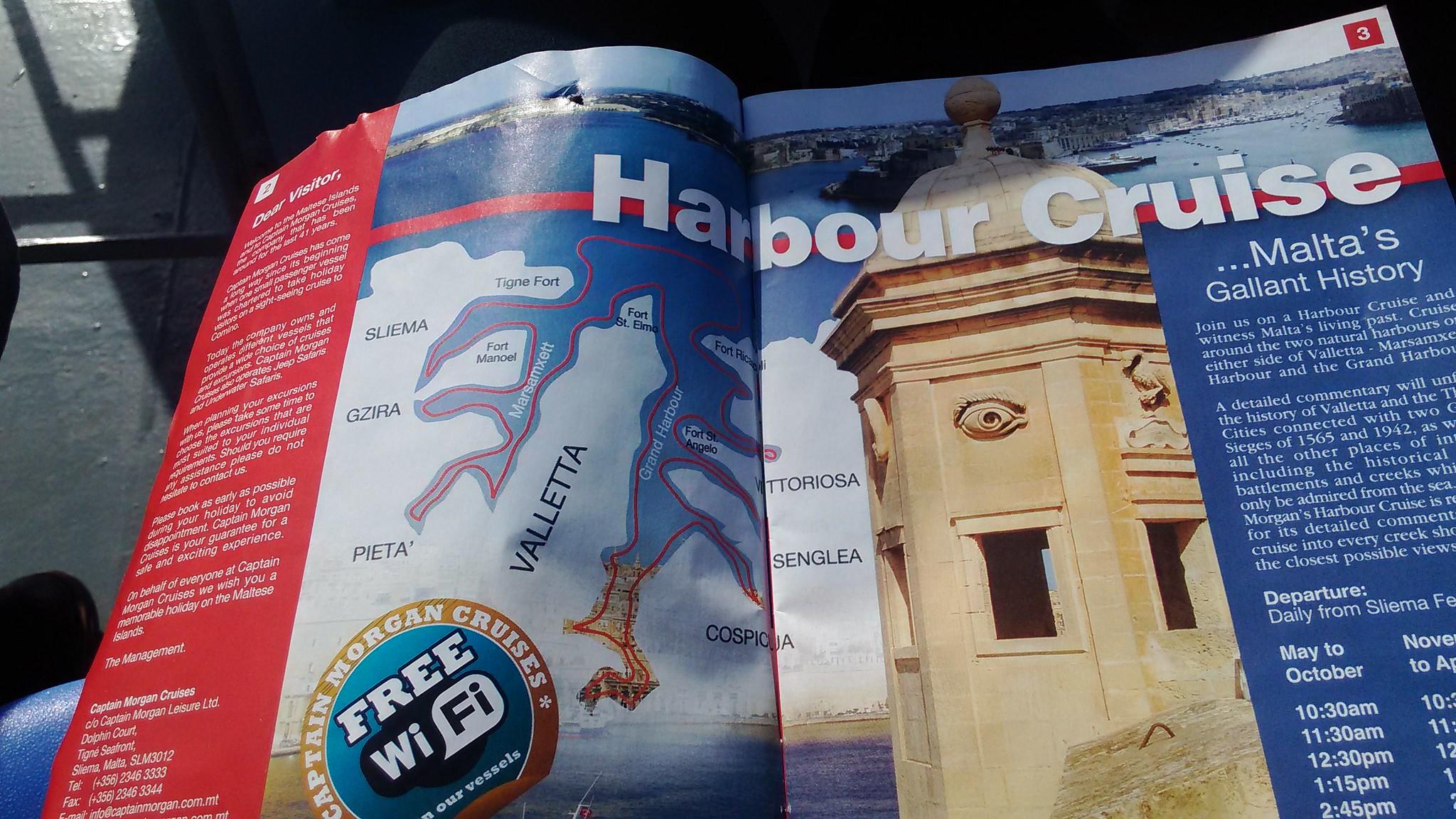 Tour Harbour Cruise con partenza da Sliema Ferries