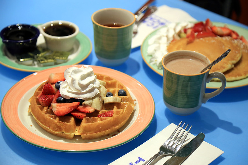 pancake-and-strawberry-waffles