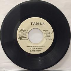 STEVIE WONDER:DO I DO W:Harmonica solo(RECORD SIDE-A)