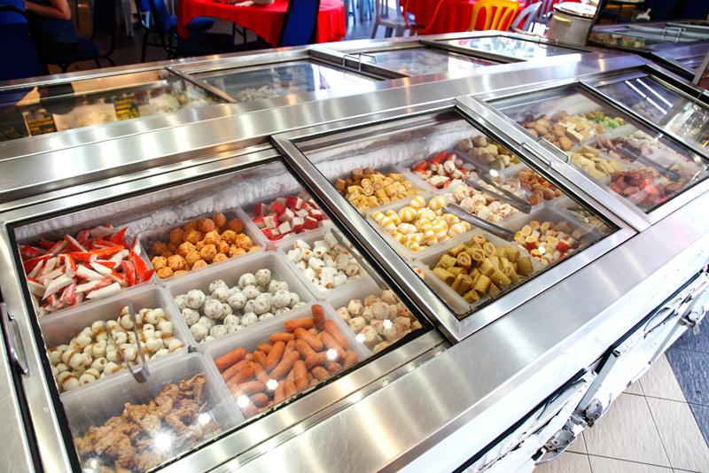 QQ BBQ Steamboat Meat Balls