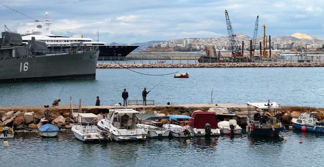 Marina Vlisvos port athens