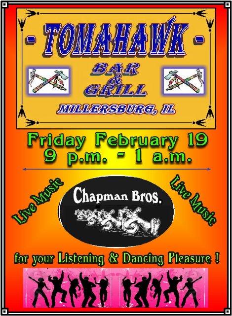 Chapman Bros 2-19-16