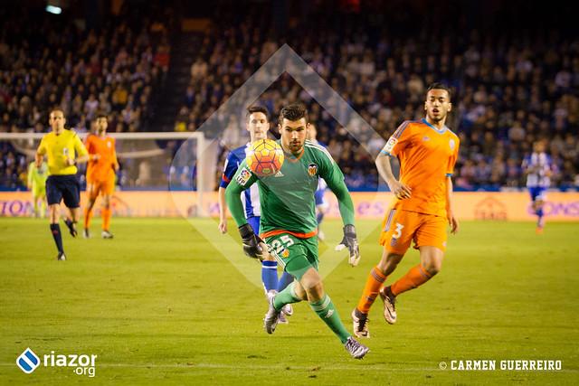Liga BBVA. Deportivo 1 - Valencia 1