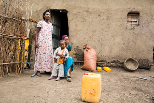 Yesunesh lives with her husband Getachew, and 10 year old daughter Genet and 2 year old son Samuel in Lode Lemofo