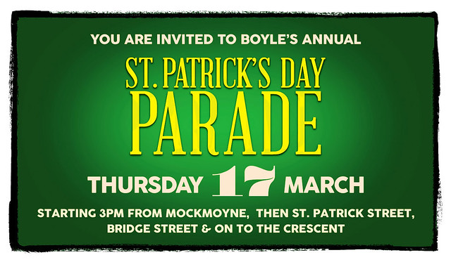 Saint Patrick's Day Invite