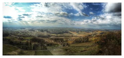 Hügellandschaft Südost Steiermark
