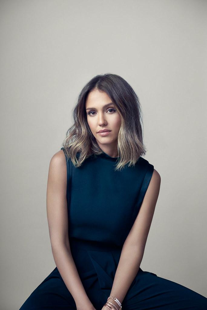Джессика Альба — Фотосессия для «Fast Company» 2015 – 2