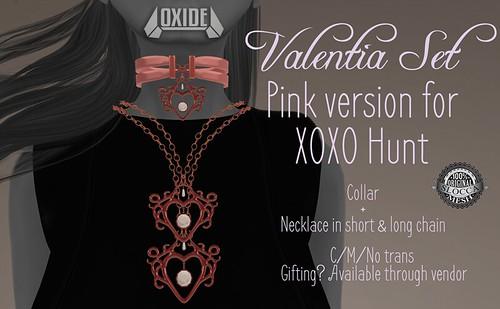 OXIDE Valentia Set for XOXO Hunt