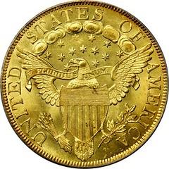 1799 Large Stars Eagle reverse