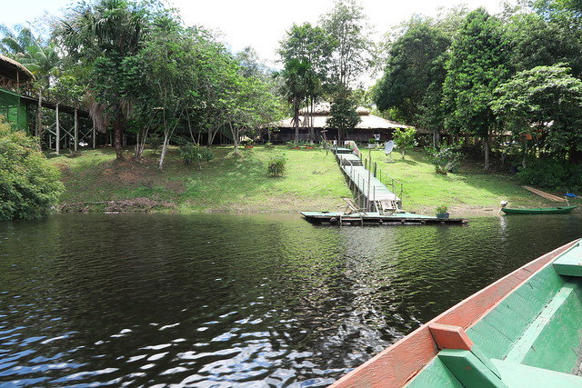 approach to amazon tupana lodge day