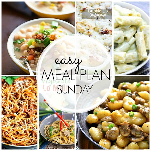 Week 38. Collaborative weekly meal planning. 9 bloggers. 6 dinner ideas, one-weekend breakfast plus 2 desserts every single week equals one heck of a delicious menu!
