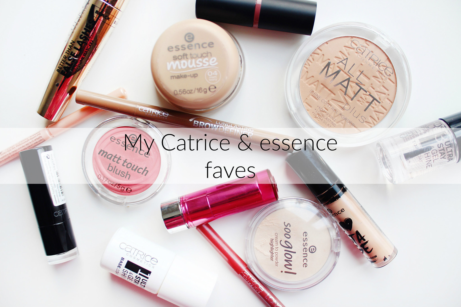 My essence and catrice favorites