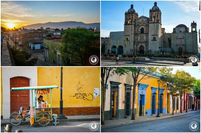 Oaxaca collage