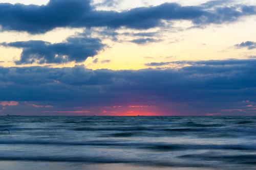 sea usa beach gulfofmexico sunrise texas earlymorning portaransas