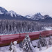 What Lies Ahead | Morant's Curve, Canadian Rockies by v on life