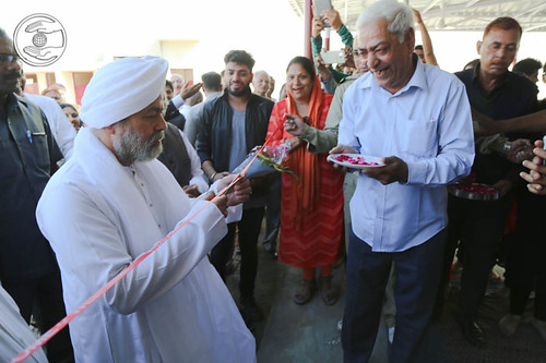 Inauguration newly constructed Satsang Bhawan at Roorkee