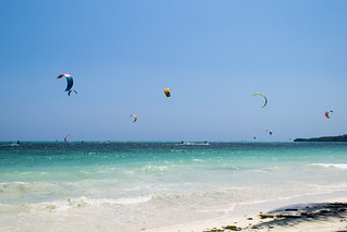Image of  White Beach. beach philippines kitesurfing boracay malay westernvisayas bulabogbeach
