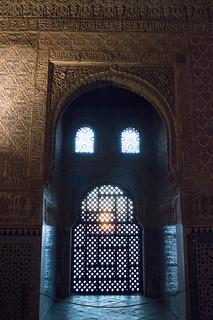 Sunset, Nasrid Palaces, La Alhambra, Granada