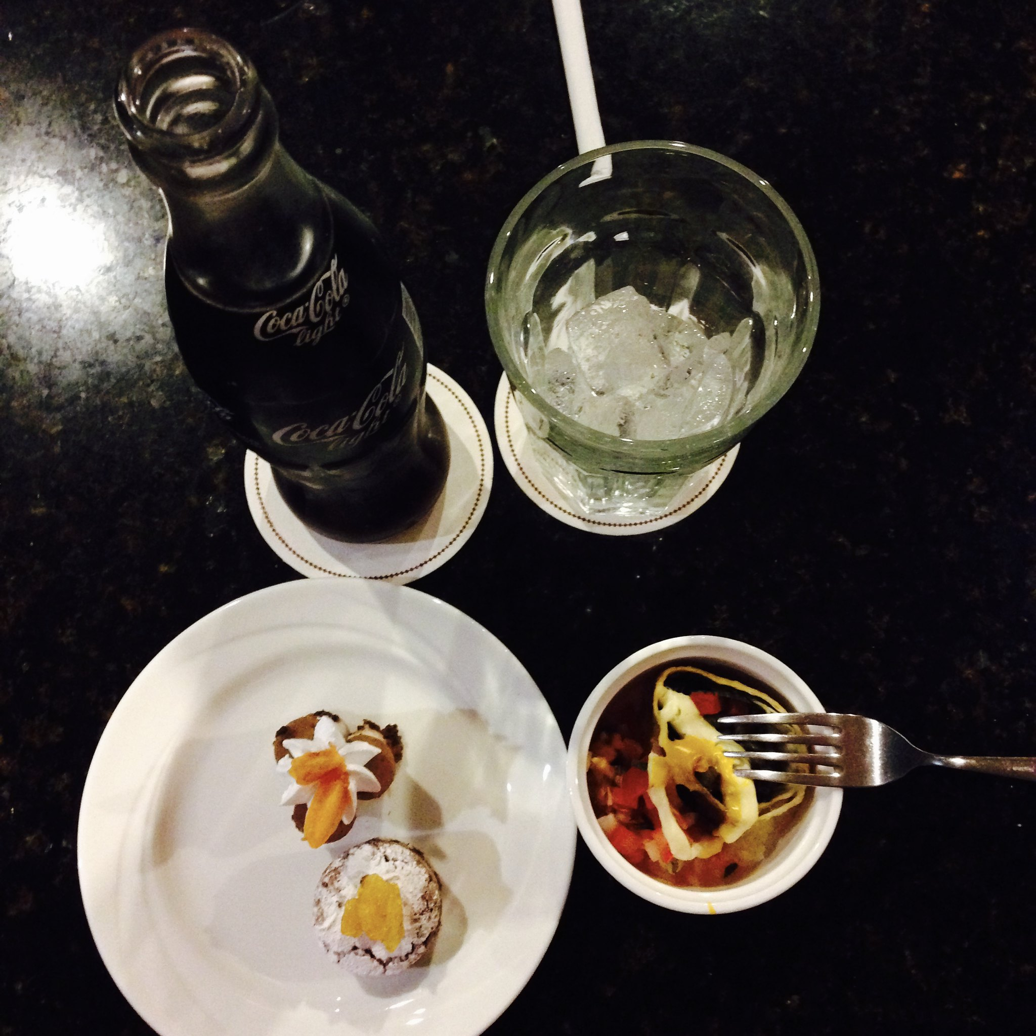 Evening Hors D'Oeuvres at DoubleTree Hilton Cariari