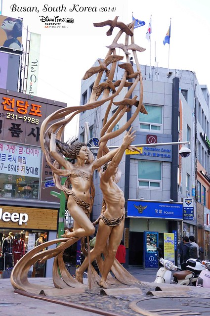 South Korea 2014 - Day 02 Busan BIFF Square 02