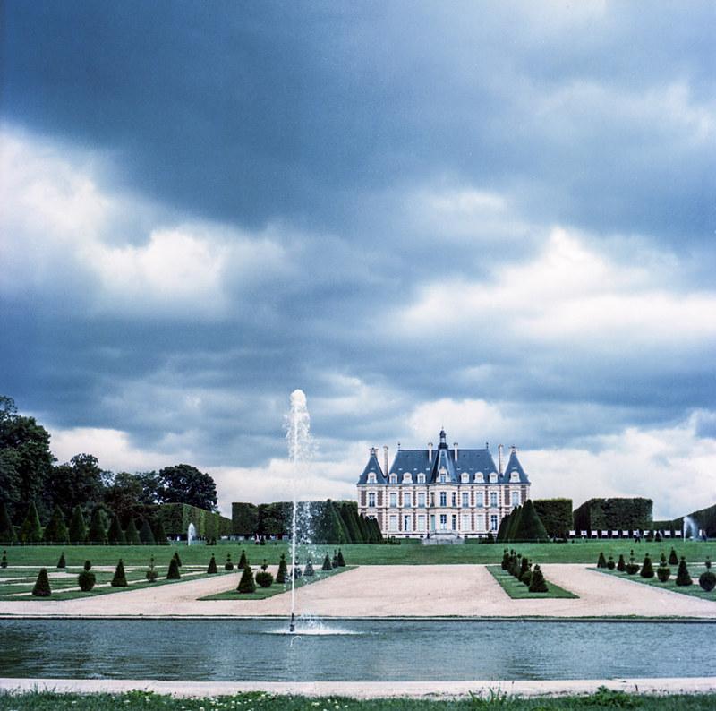 Chateau du parc de Sceaux