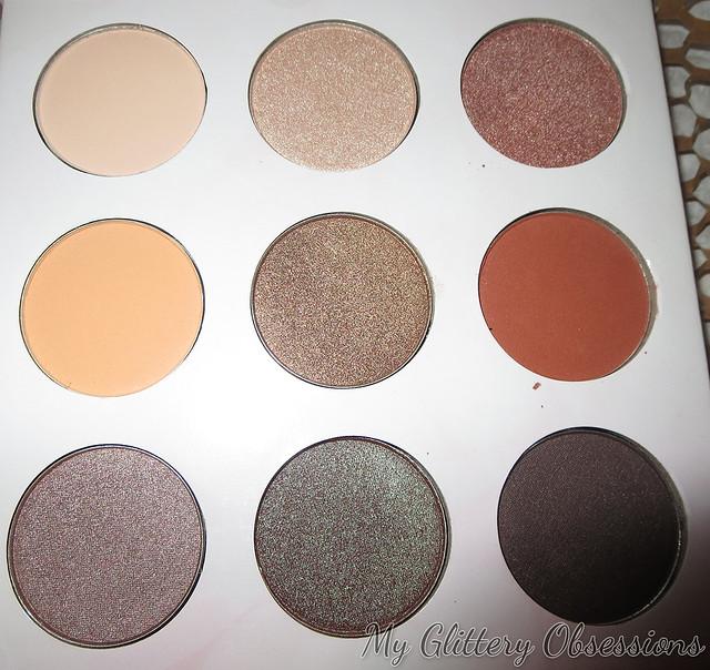 eyeshadow pans