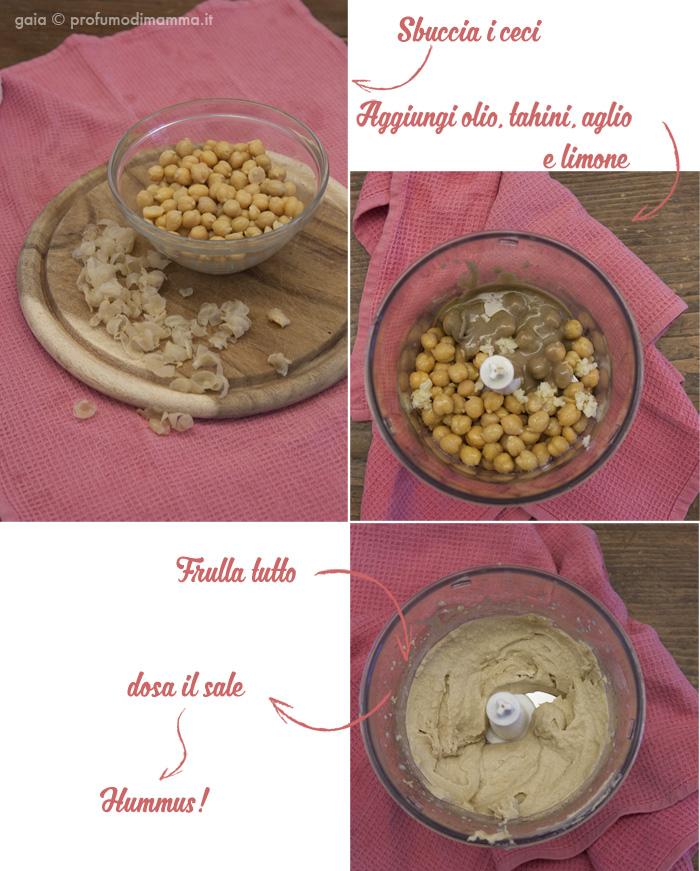 Hummus e tahina