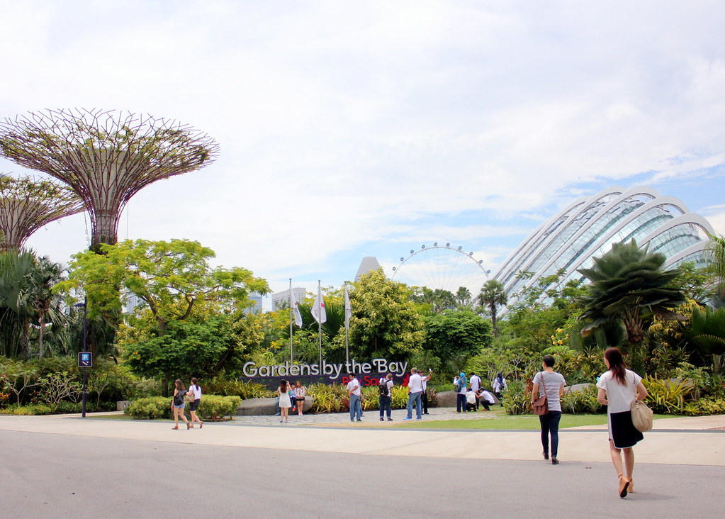 Singapore Gourmet Bus: Garden By The Bay