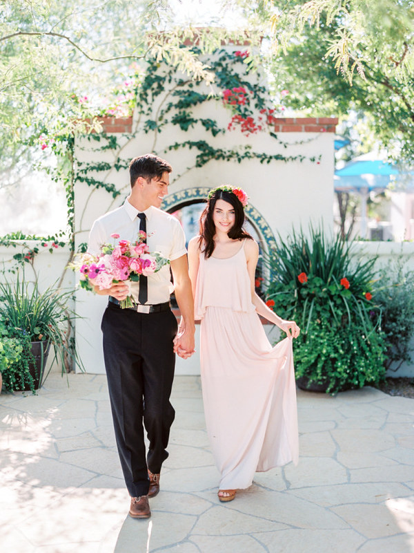 Colourful Wedding Inspiration { blush, light pink and magenta } fabmood.com