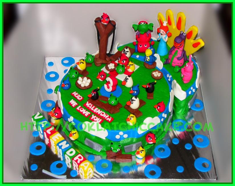 Cake dibo angrybird