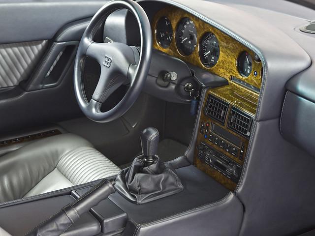 Салон Bugatti EB110 GT. 1992 – 1995 годы