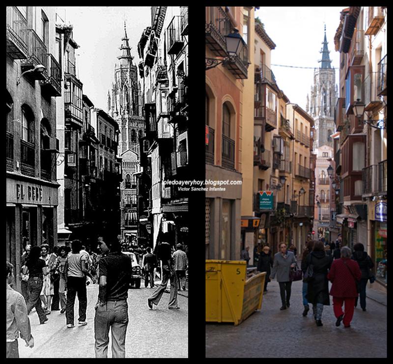 Calle Comercio 1970-2015