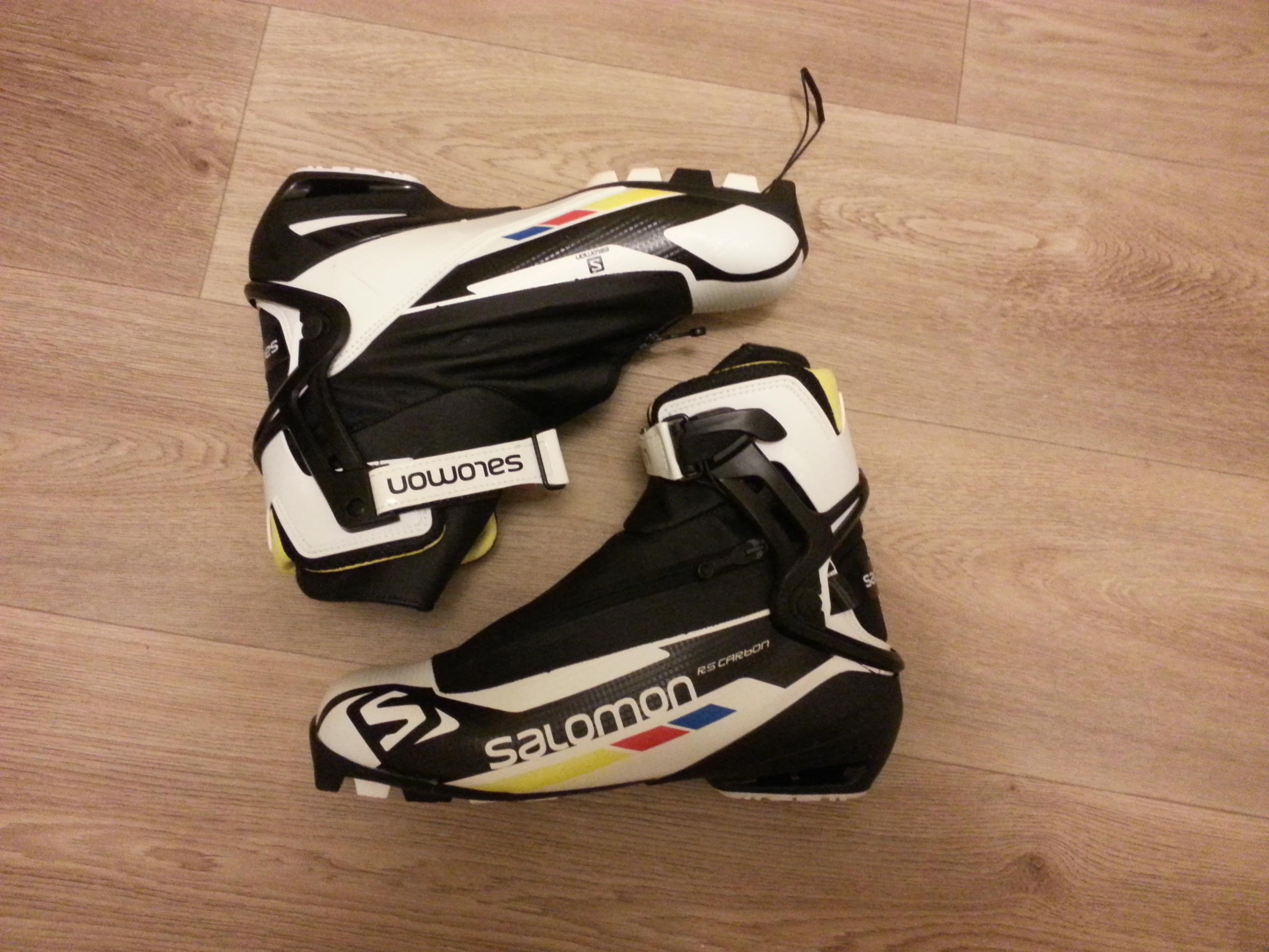Nové Salomon RS Carbon Skate 14 15 vel. 46 - Bazar - Běžky.net 9b75d9d9d4