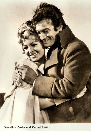 Gérard Barray and Geneviève Casile in Surcouf, l'eroe dei sette mari (1966)