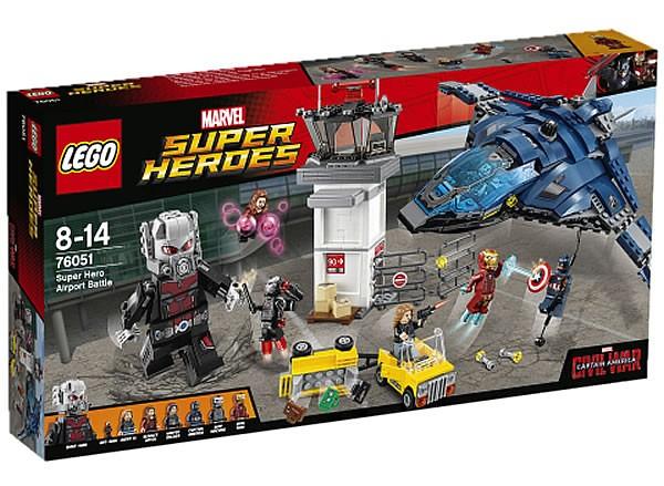 LEGO® 76047、76050、76051【美國隊長3:英雄內戰】Captain America : Civil War