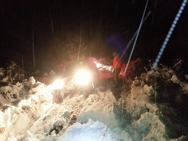 Brunswick Canyon / Sunrise Pass Rescue