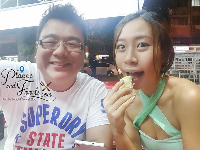 durian king ttdi bukit bintang musang selfie felicia zoe