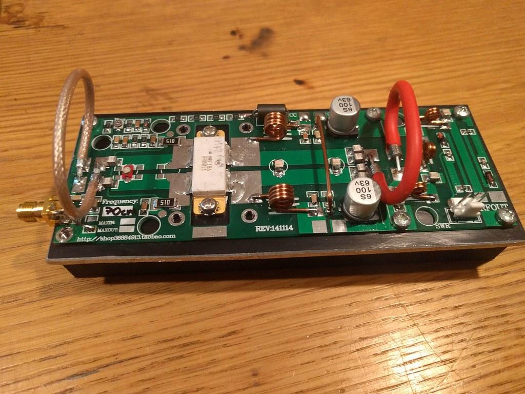 70cm amplifier build | 100W taobao kit | knglaser | Flickr